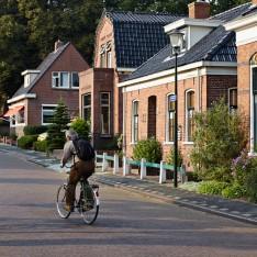 Fietsers op Torenweg