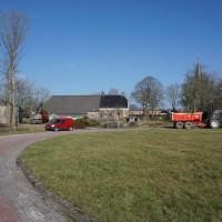 Hertenkamp en boerderij Ulrum