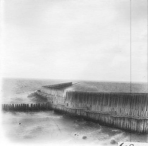 Het Statenhoofd anno 1920. Foto is gemaakt door meester Reitsma uit Firdgum.