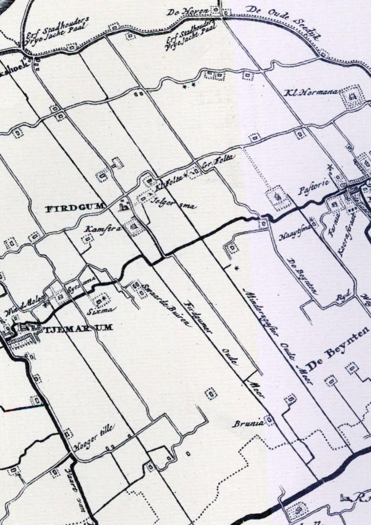 Kaart Schotanus
