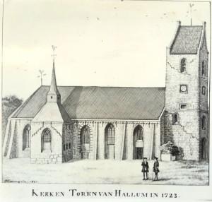 kerk-en-toren-van-hallum-1723