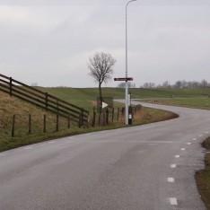 Friesland-bedijking Kollumerpomp