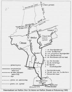 Waterstaatkaart-van-Warffum