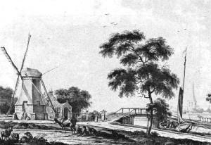 Tekening van J. Bulthuis (1750-1801). Foto afkomstig uit: De Marne als éénheid (1971).