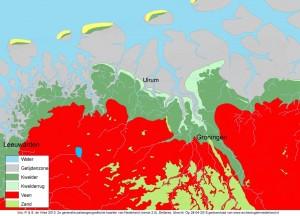 palaeografische kaart ulrum