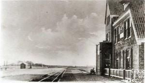 Het station rond 1925. Foto: www.historischekringdemarne.nl