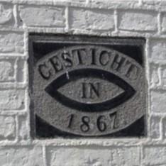 School Firdgum aan Tsjerkepaed gesticht 1867