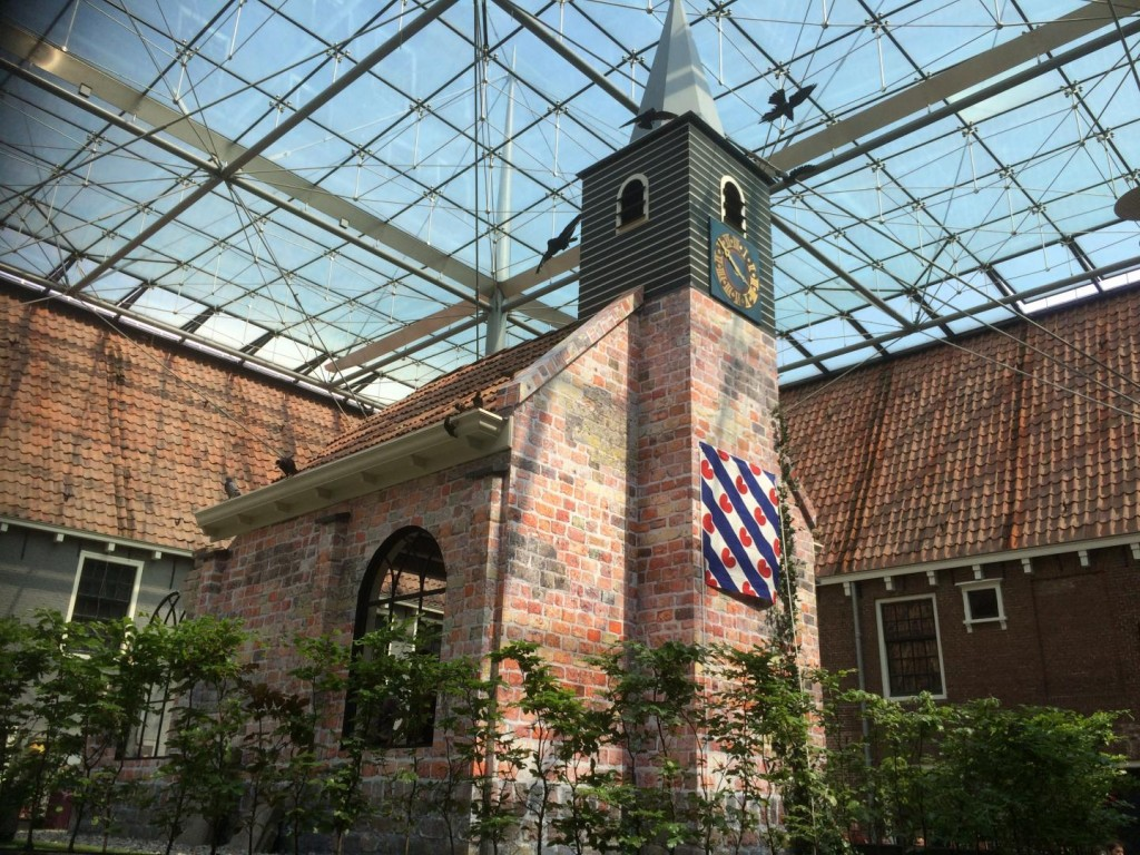 Terpkerkje in Natuurmuseum Fryslan - Foto Omrop Fryslân, René Koster