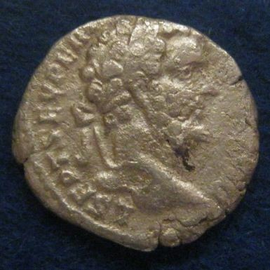 Denarius van keizer Septimus Severus