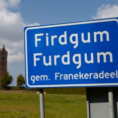 Village sign Friesland