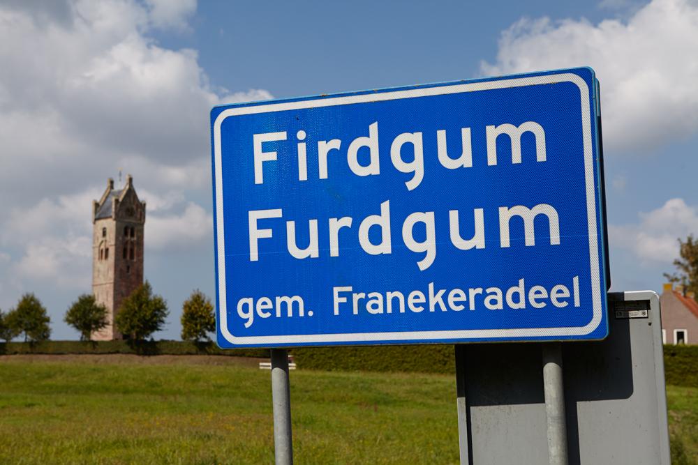 Village sign Friesland