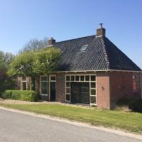 Huis en atelier op de Oudebildtdijk.