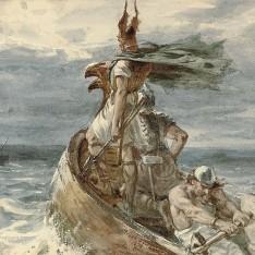 Schilderij 1873 Frank Dicksee
