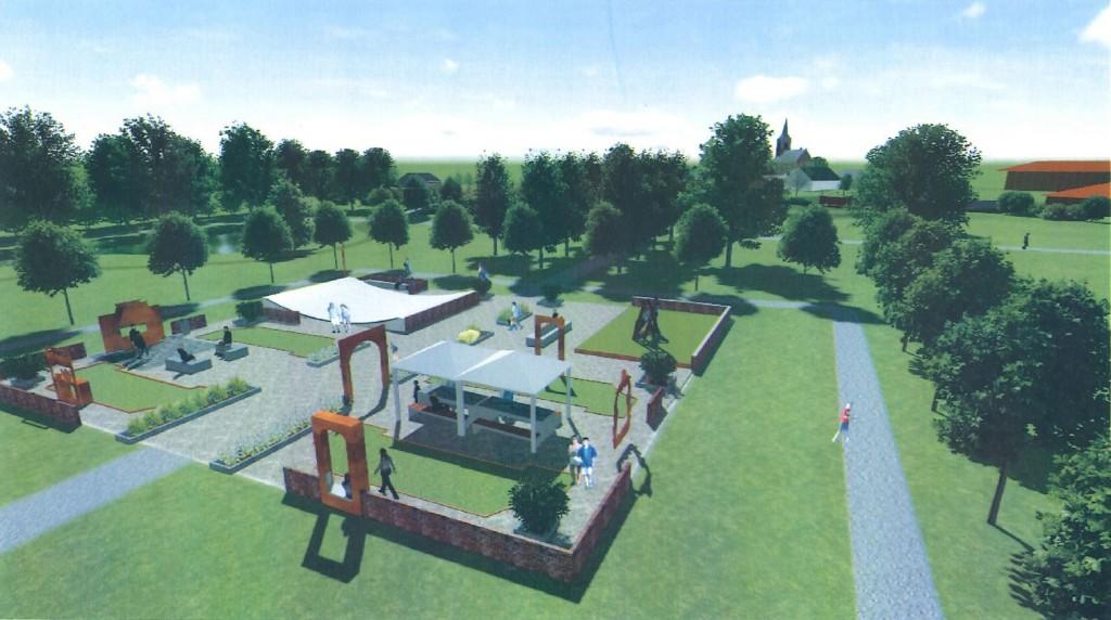 3d visualisaties Asingapark, door Jan Waal